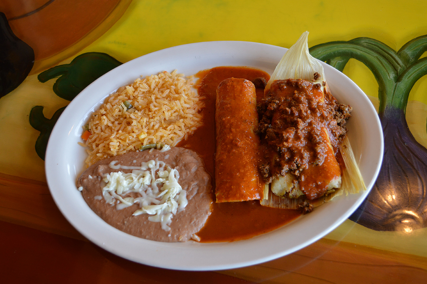 Enchilada and Tamale
